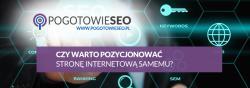Pozycjonowanie strony WWW samemu - czy warto to robić ?