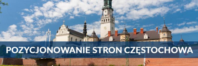 Pozycjonowanie stron interetowych (SEO) w Częstochowie