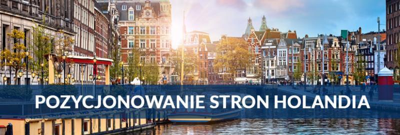 Pozycjonowanie stron WWW w Holandii