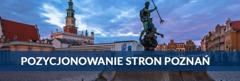 Pozycjonowanie stron WWW w Poznaniu