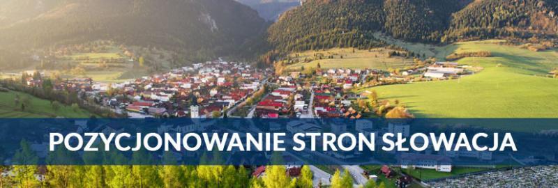Pozycjonowanie stron WWW na Słowacji