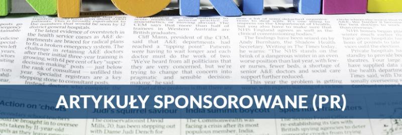 Artykuły sponsorowane PR-owe - tworzenie i publikacja