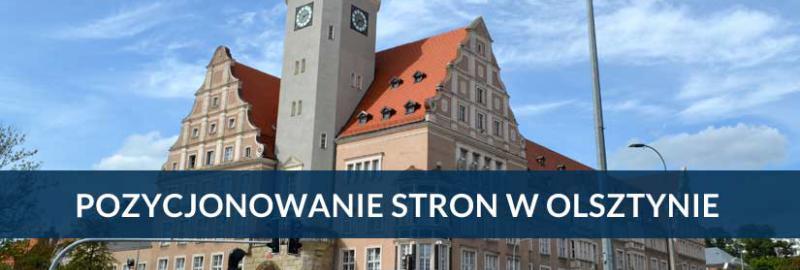 Pozycjonowanie stron i sklepów internetowych w Olsztynie