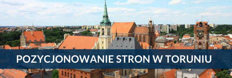 Pozycjonowanie stron i sklepów internetowych w Toruniu