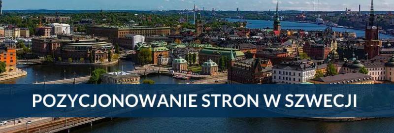 Pozycjonowanie stron i sklepów internetowych Szwecja